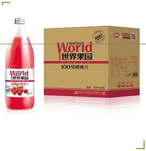 世界果园桃汁
