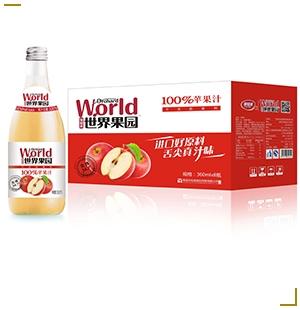 世界果园苹果汁