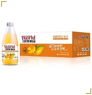 世界国园芒果汁