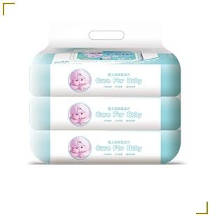 婴儿洁肤柔湿巾